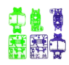 타미야,95234,TAMIYA, MS Chassis Set Purple Green